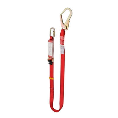 HWZLD1124 Shock-Absorbing Lanyard with big snap hook