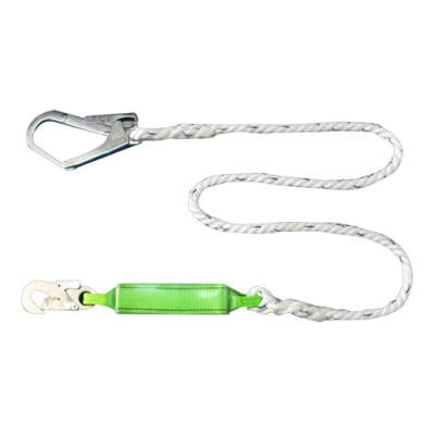 HWZLD1113 Shock-Absorbing Lanyard with big snap hook