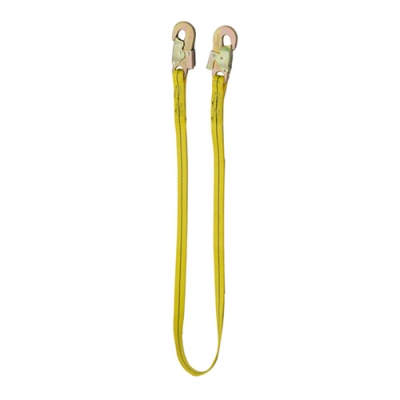HWZLD1021 Lanyard with middle snap hooks on both sides