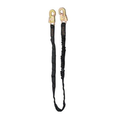 HWZLD1041 Lanyard with middle snap hooks on both sides