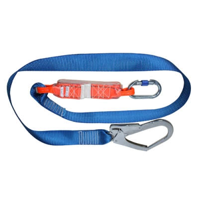 HWZLD1123 Shock-Absorbing Lanyard with big snap hook